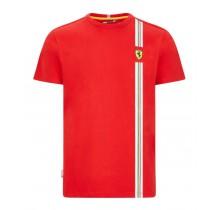 Tričko Ferrari TRICOLORE - červené