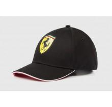 Dětská kšiltovka Ferrari - černá