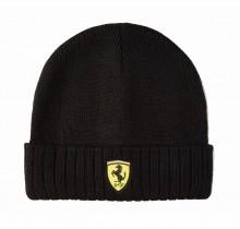 Zimní čepice Scuderia Ferrari - černá