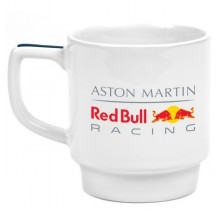 Hrnek Aston Martin Red Bull Racing - bílý