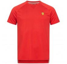 Tričko Ferrari Performance - červené