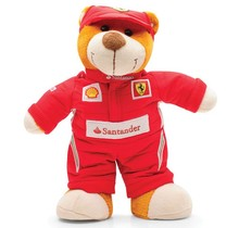 Plyšový medvěd týmu Ferrari