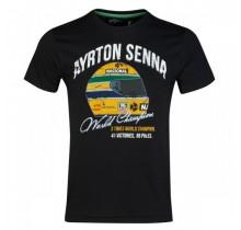 "Tričko Ayrton Senna ""Champion"""