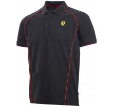 Polo tričko Ferrari Track - černé