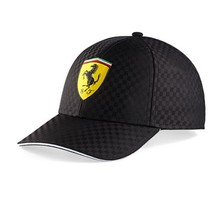 Kšiltovka Ferrari Racing Check - černá