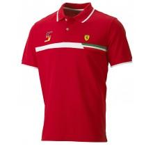 "Polo tričko Ferrari ""Sebastian Vettel"" - M"