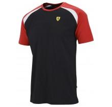 Tričko Ferrari Race - černé - L