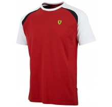 Tričko Ferrari Race - červené - XL