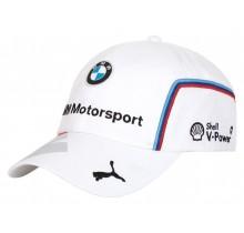 Týmová kšiltovka BMW Motorsport - bílá