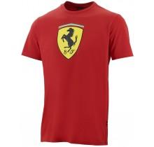 Tričko Ferrari Classic - červené - XXL