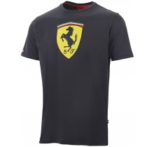 Tričko Ferrari Classic - černé - L