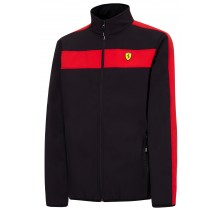Bunda Ferrari softshell - černá - S