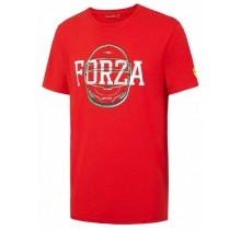 Tričko Ferrari FORZA - červené
