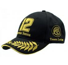 """Kšiltovka Ayrton Senna """"Team Lotus"""""""