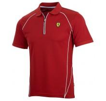 Polo tričko Ferrari Performance - červené - S
